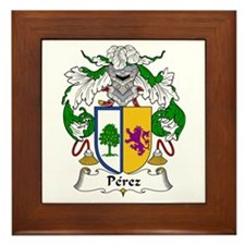 Pérez I Framed Tile