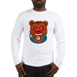 Possessed Teddy Bear Long Sleeve T-Shirt