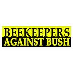 Beekeepers Against Bush (bumper sticker)