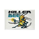 Killer Bee @ eShirtLabs.Com Rectangle Magnet (100