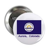"Aurora CO Flag 2.25"" Button (100 pack)"
