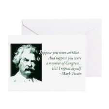 Idiot Congress Greeting Cards (Pk of 20)
