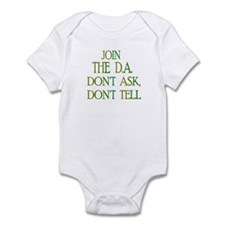 don't ask, don't tell Infant Bodysuit