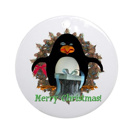 Pongo Penguin Ornament (Round)
