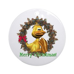 Eggbert Ornament (Round)