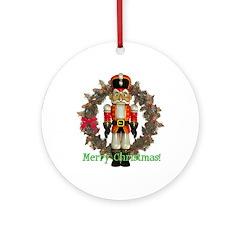 Nutcracker (Red) Ornament (Round)