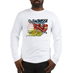 Lacrosse on Wheels Long Sleeve T-Shirt