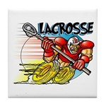 Lacrosse on Wheels Tile Coaster