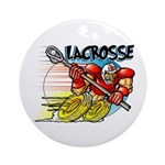Lacrosse on Wheels Keepsake (Round)