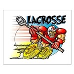 Lacrosse on Wheels Small Poster