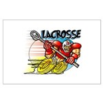 Lacrosse on Wheels Large Poster