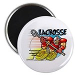 Lacrosse on Wheels Magnet