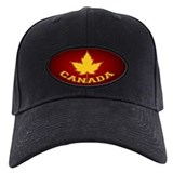 Canada Maple Leaf Souvenir Baseball Cap