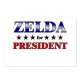 ZELDA for president Postcards (Package of 8)