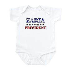 ZARIA for president Infant Bodysuit
