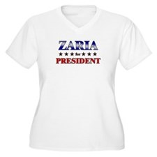 ZARIA for president T-Shirt