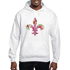 Floral Fleur de lis (2) Jumper Hoody