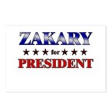 ZAKARY for president Postcards (Package of 8)