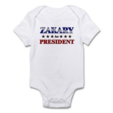ZAKARY for president Infant Bodysuit
