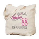 88th Birthday Gifts Tote Bag