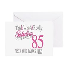 85th Birthday Gifts Greeting Card