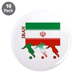 "Iran Soccer 3.5"" Button (10 pack)"