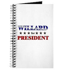 WILLARD for president Journal