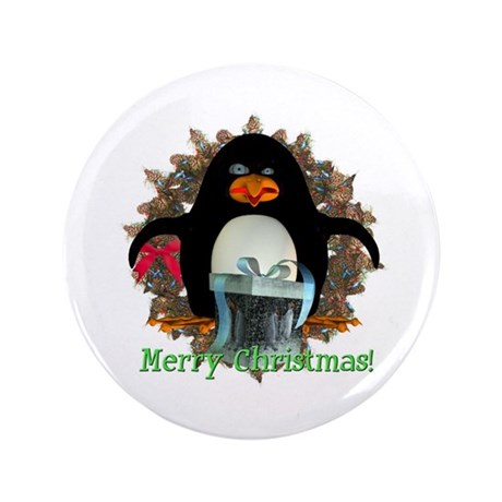 Pongo Penguin 3.5&quot; Button