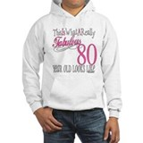 80th Birthday Gift Jumper Hoody