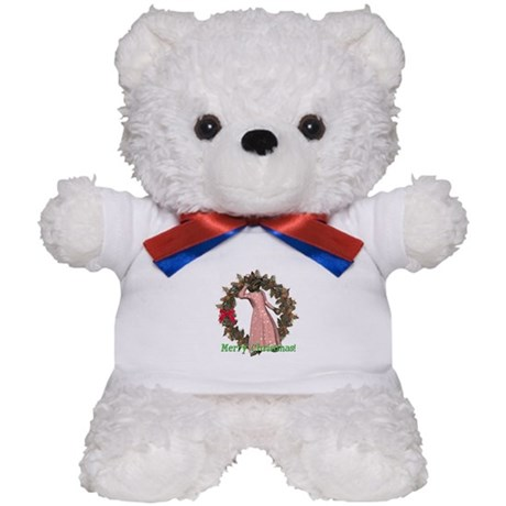 Big Bad Wolf Christmas Teddy Bear