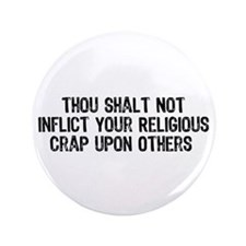 "Anti-Religious 3.5"" Button"