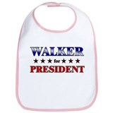 WALKER for president Bib
