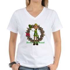 Elf Women's V-Neck T-Shirt