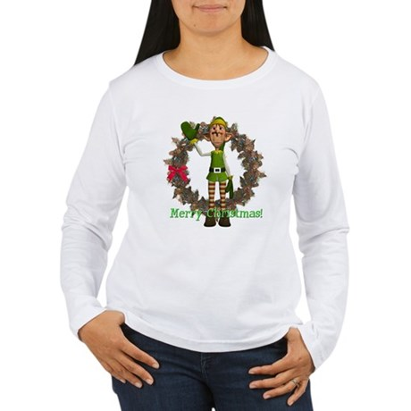 Elf Women's Long Sleeve T-Shirt