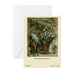 The Magi-Tissot-Christmas Cards (Pk of 10)