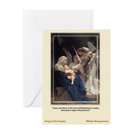 Songof theAngels-Bouguereau-Christmas Card
