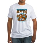 Slippery Beaver Fitted T-Shirt