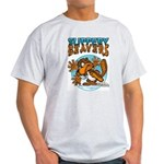 Slippery Beaver Ash Grey T-Shirt