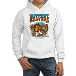 Slippery Beaver Hooded Sweatshirt