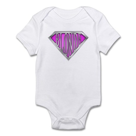 SuperBlonde(pink) Infant Bodysuit