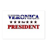 VERONICA for president Postcards (Package of 8)