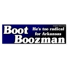 Boot Boozeman Bumper Sticker