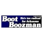 Boot Boozeman Bumper Sticker