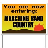 Marching Band Country Yard Sign