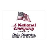 National Emergency Postcards (Package of 8)