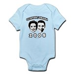 Clinton / Obama 2008 Infant Bodysuit