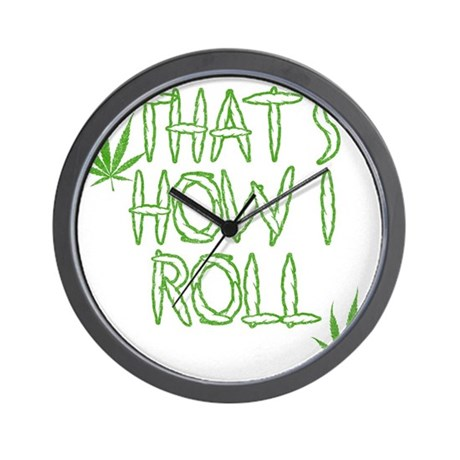 That's How I Roll (Vintage) Wall Clock