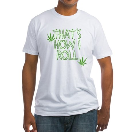 That's How I Roll (Vintage) Fitted T-Shirt