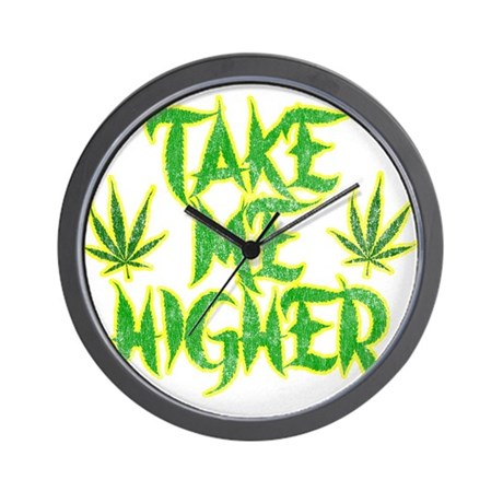 Take Me Higher (Vintage) Wall Clock