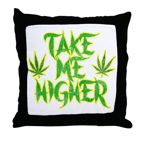 Take Me Higher (Vintage) Throw Pillow